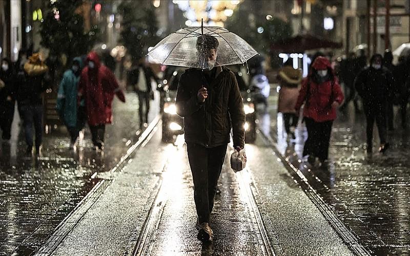 Marmara'da yağmur ve sağanak