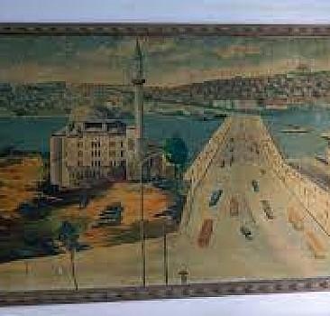İstanbul'un resimli apartmanları