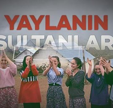 """""""Yaylanın Sultanları"""" 2 bin 229 metrede voleybol maçı yapıyor"""