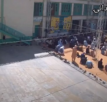 Afganistan'da camiye saldırının görüntüleri ortaya çıktı