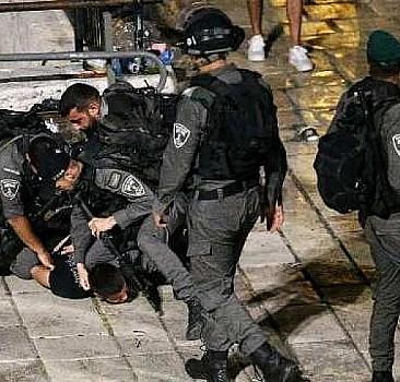 Kudüs'te yaralı sayısı 205'e yükseldi