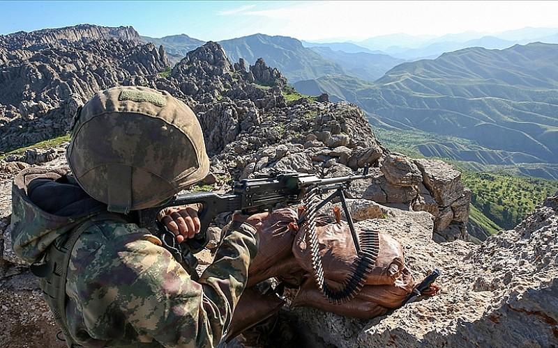 Cudi Dağı Tuşimiya bölgesinde 1 terörist etkisiz hale getirildi
