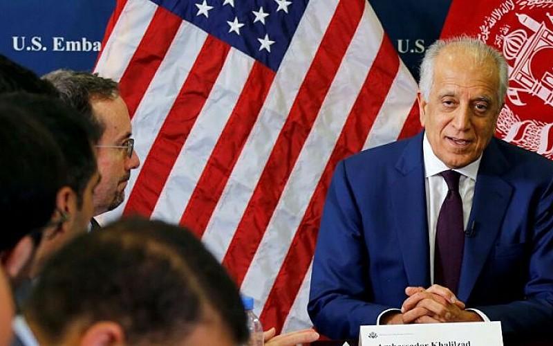 ABD'nin Afganistan Temsilcisi Halilzad Afgan makamlarıyla barış sürecini görüştü