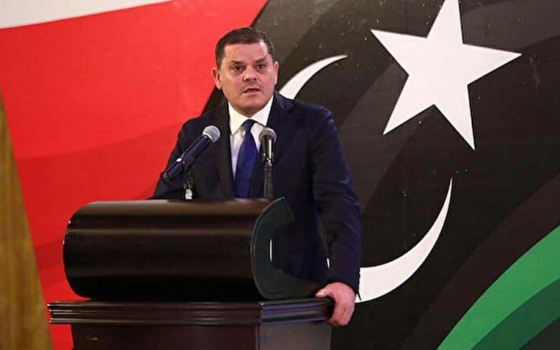 Libya'nın doğusundaki sivil toplum temsilcilerinden Başbakan Dibeybe'ye destek ziyareti