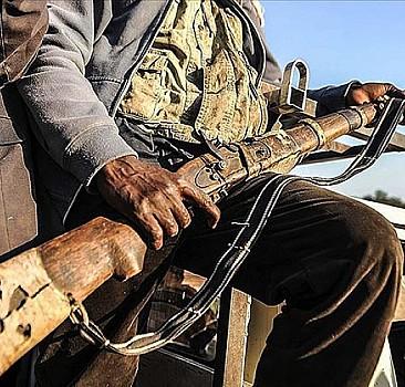 56 silahlı çete üyesi yakalandı