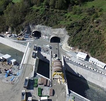 Yeni Zigana Tüneli Projesi'nde sona yaklaşılıyor