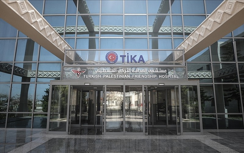 Gazze'deki Kovid-19 vakalarının yükünü Türkiye'nin yaptırdığı hastane taşıyor