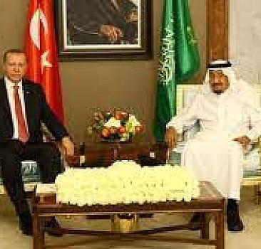 Başkan Erdoğan Kral Selman ile görüştü