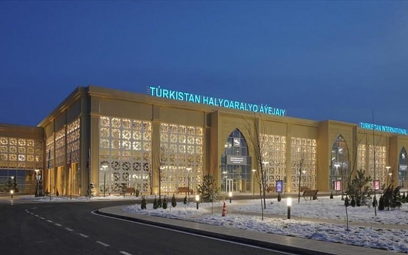 Türk firmanın inşa ettiği Türkistan Uluslararası Havalimanı 5 ayda yaklaşık 34 bin yolcu ağırladı