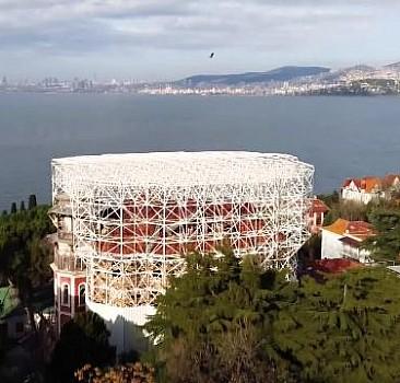 Tarihi Hacopoulos Köşkü restore ediliyor