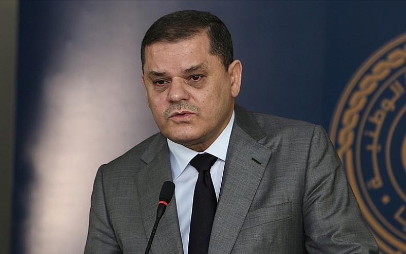 Libya Başbakanı Dibeybe BAE'de Veliaht Prens Al Nahyan ile 'ikili ilişkileri' görüştü