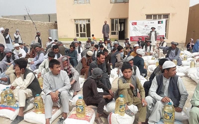 TİKA'dan Afganistan'daki ihtiyaç sahibi 600 aileye gıda yardımı