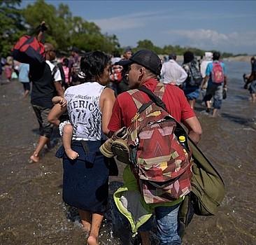 ABD, Teksas'ın Meksika sınırında bulunan Haitililerin kaldığı kampın temizlendiğini açıkladı