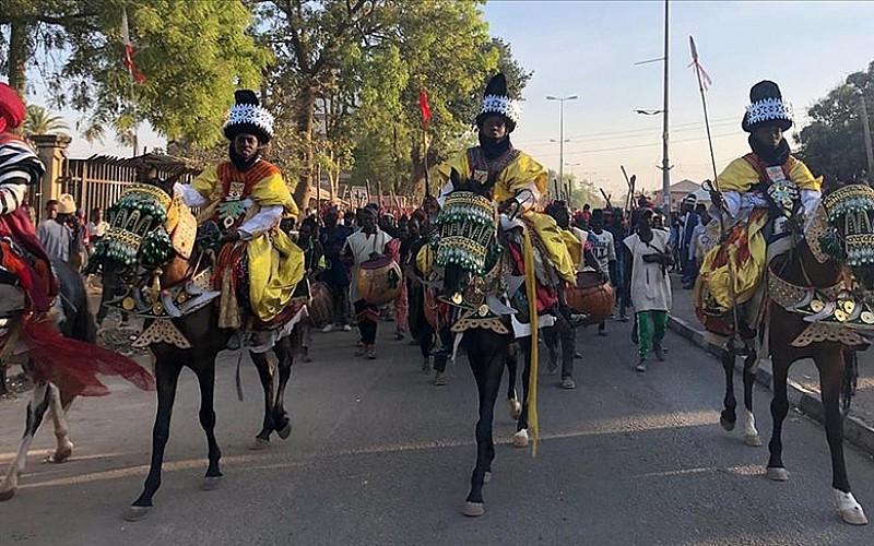 Nijerya'da Ramazan ve Kurban Bayramı kutlamaları 'Hawan Daushe' 600 yıldır sürüyor