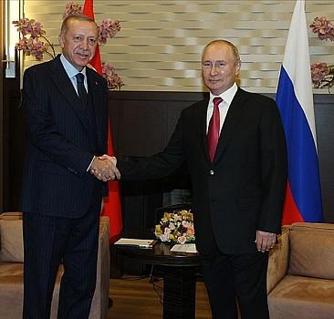 Cumhurbaşkanı Erdoğan: Suriye'de barış Türkiye-Rusya ilişkilerine bağlı
