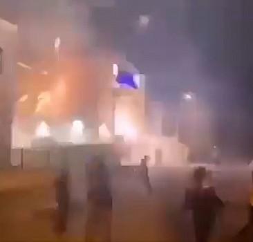 Direniş devam ediyor! İsrail karakolunu hedef aldılar