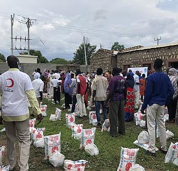 Kızılay'dan Güney Sudan'a yardım