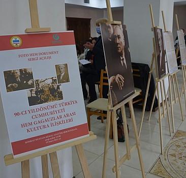 YEE'den Komrat'ta Türkiye ile Gagauzya kültürel ilişkilerinin 90. yılı sergisi