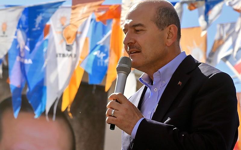 İçişleri Bakanı Süleyman Soylu, Afyonkarahisar'da konuştu: