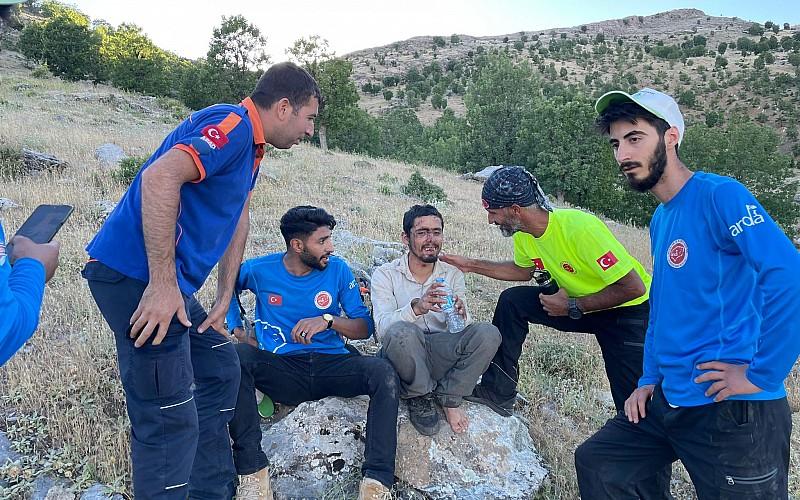 Diyarbakır'da kaybolan epilepsi hastası, drone destekli arama sonucu bulundu