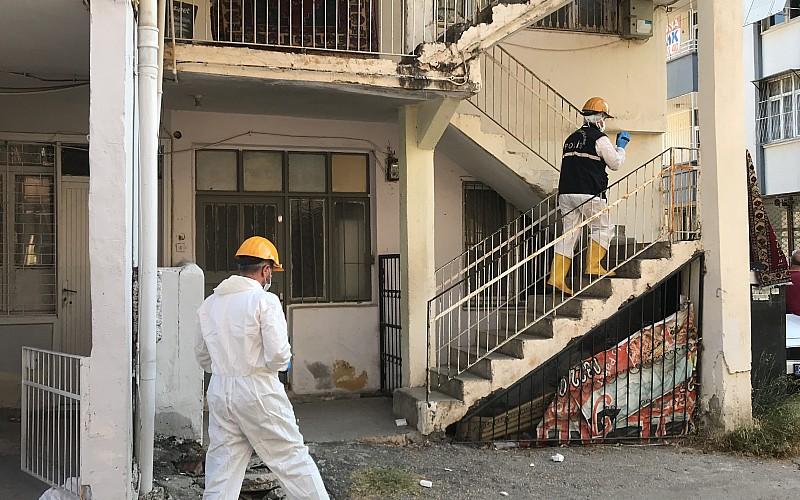 Adana'da evde çıkan yangın sonrası yapılan aramalarda bir kişinin cesedi bulundu