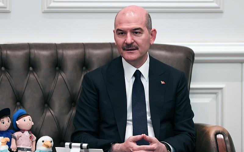 İçişleri Bakanı Soylu, Sahil Güvenlik Komutanlığı personelini kabulünde konuştu: