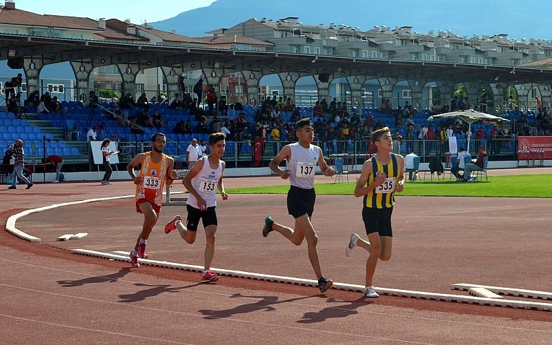 18 Yaş Altı Türkiye Atletizm Şampiyonası sona erdi