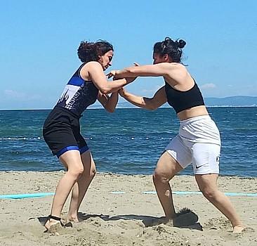 Türkiye Plaj Güreşi Şampiyonası sona erdi