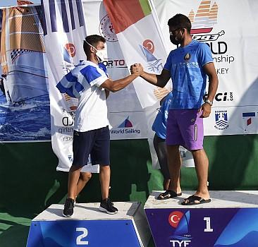 Rüzgar sörfünde 2021 Techno 293 Plus Dünya Şampiyonası ödül töreniyle sona erdi
