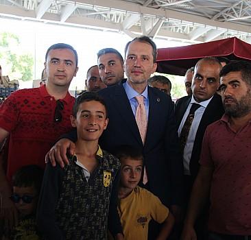 """Yeniden Refah Partisi Genel Başkanı Fatih Erbakan: """"Potansiyel cumhurbaşkanı adayıyım"""""""