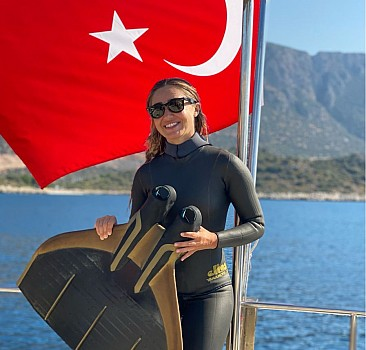 Serbest Dalış Türkiye Şampiyonası Antalya'da sona erdi