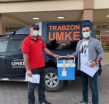Trabzon'da beyin kanaması sonucu ölen hastanın organları 2 kişiye umut oldu