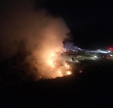 GÜNCELLEME - Bilecik'te çöplük alanda çıkan yangın kontrol altına alındı