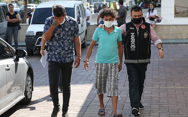 Alanya'da uyuşturucu operasyonunda iki şüpheli tutuklandı