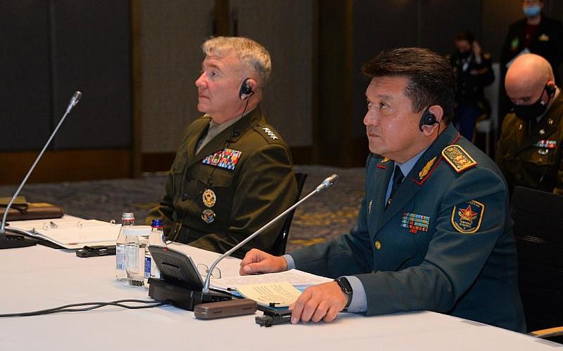 Orta ve Güney Asya Genelkurmay Başkanları Toplantısı Kazakistan'da yapıldı