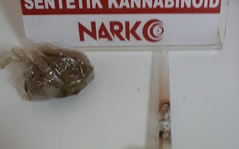 Kırıkkale'de uyuşturucu operasyonunda yakalanan zanlı tutuklandı