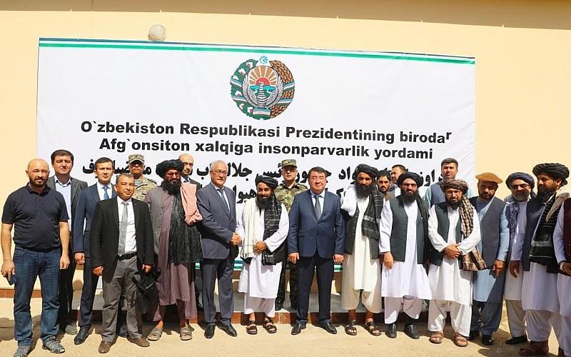 Özbekistan, Afganistan'a 25 vagon insani yardım malzemesi gönderdi