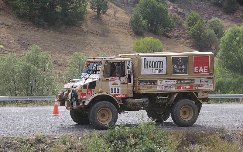 TransAnatolia Rally Raid'de sürücüler Sivas'a ulaştı