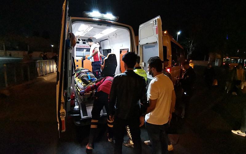 Avcılar'da minibüsün çarptığı yabancı uyruklu kadın yaralandı