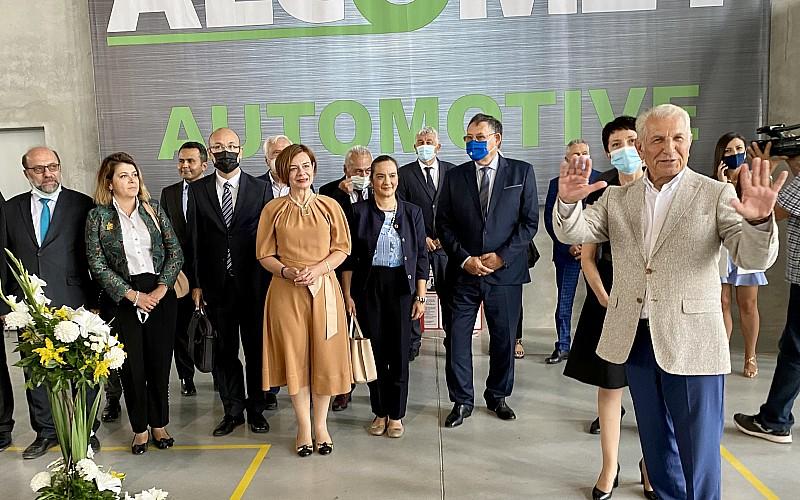 Bulgaristan'da en büyük Türk yatırımcılarından Alcomet yeni üretim tesisini açtı