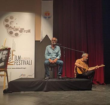 28. Uluslararası Altın Koza Film Festivali'nde Hasan Saltık söyleşisi yapıldı