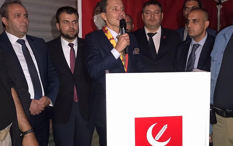 Yeniden Refah Partisi Genel Başkanı Erbakan, Kayseri'de konuştu: