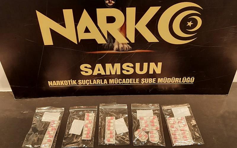 Samsun'da uyuşturucu operasyonlarında yakalanan 3 zanlı tutuklandı