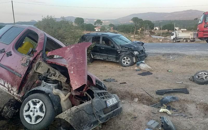 Muğla'da iki otomobilin çarpıştığı kazada 1 kişi öldü