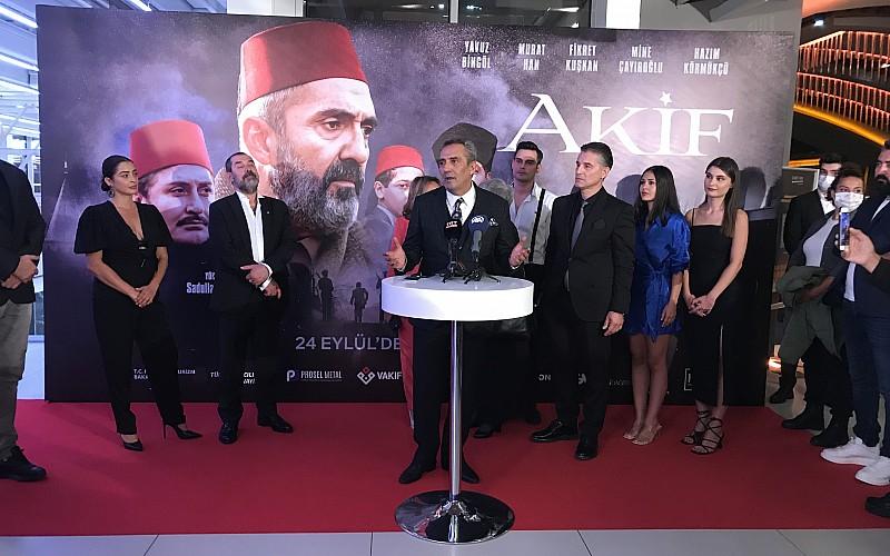 ''Akif'' filminin galası İstanbul'da yapıldı