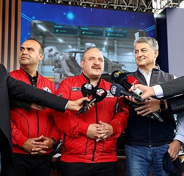 Bakan Varank, TEKNOFEST'te basın mensuplarının sorularını yanıtladı: