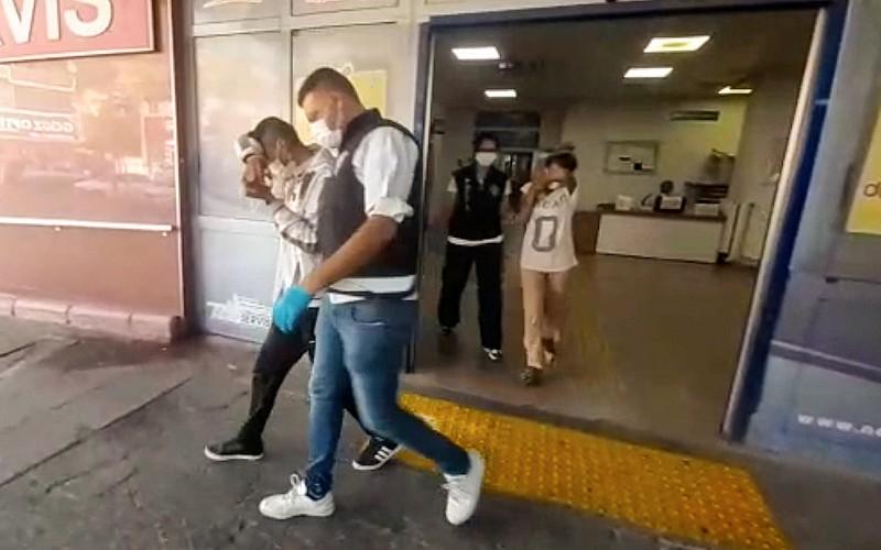 Kahramanmaraş'ta çaldıkları motosikleti otobüsle Gaziantep'e götüren 2 şüpheli yakalandı