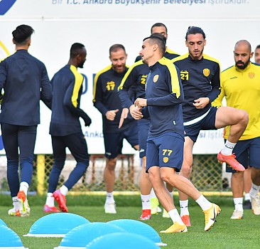 MKE Ankaragücü'nde Bursaspor maçı hazırlıkları