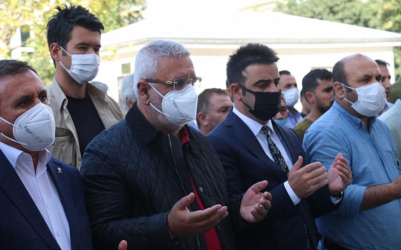 AK Parti Adıyaman eski milletvekili Metiner'in babası toprağa verildi
