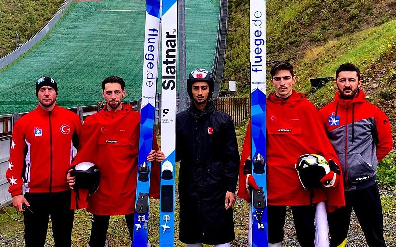 Milli sporcular, kayakla atlamada Almanya'da Continental Kupası'nda yarışacak